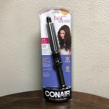 NEW CONAIR Hot Sticks Instant Heat Hot Brush 3/4 Inch BC84WCS Curling Iron Tool