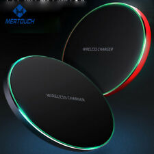 Qi Wireless Charger Sleek Charging Pad for iPhone X | 8 | 8 Plus |Galaxy Note 8
