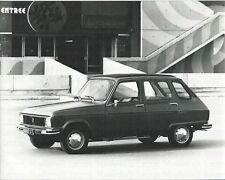 RENAULT 6 TL 1973 Photo Photo Photo Graph voiture photographie automobile