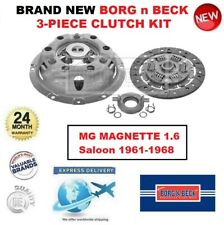 Tout Neuf Borg N Beck 3-PIECE Kit Embrayage pour MG Magnette 1.6 Berline