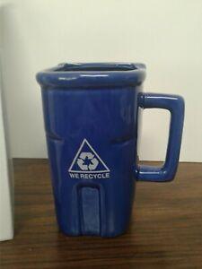 Recycling Bin Coffee Mug Coffee Cup- FREE Shipping