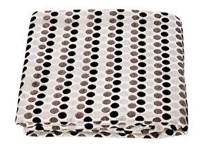 Jacquard Chenille Polka Dot Spots Sofa / Bed Throw Blanket or Cushions