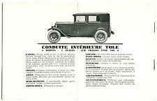 Werbung des Fahrzeuge Fiat für das Auto von Tourismus 509 A von 1926