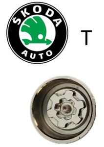 Skoda Locking Wheel Nut Key Letter T