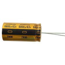 Nichicon UFW Audio Grade Electrolytic Capacitor 6800uf @ 63v 20 Tolerance