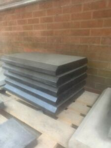 Clearance Chamfered Edge Coping Stones And Corner Piece 600x400