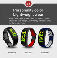 NEW Fitbit Smart Band Heart Rate Blood Pressure & Oxygen Color Display Wristband