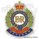 British Corps of Royal Engineers - VETERAN - UK Car/Van/Bumper/Window Stickers