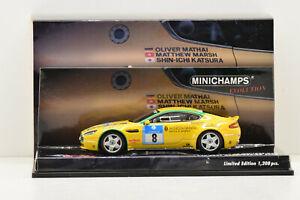 ASTON MARTIN V8 VANTAGE N24 #8 NURBURGRING  2008 MINICHAMPS 1/43 ÉTAT NEUF BOITE