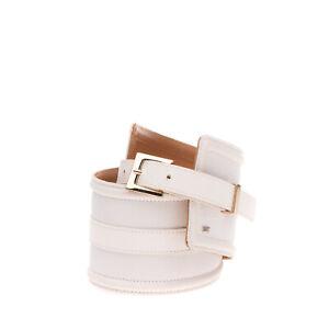 RRP €215 ELISABETTA FRANCHI X LAV Waist Belt Size 40/S 65/26 Wide Logo Stud