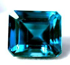 8.05 Ct Natural Grandidierite Bluish Green GGL Certified Rare Emerald Cut Gem