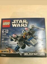 STAR WARS LEGO ultimate collector series 3 #75125 microfighters