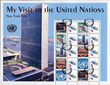 UNO New York 2005 Grußmarken Greetings S5 Kleinbogen 941-945 II Gestempelt CTO