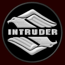 "SUZUKI INTRUDER EAGLE EMBROIDERED PATCH ~3"" CRUISER MOTORCYCLE BIKER V2 M1800-R"