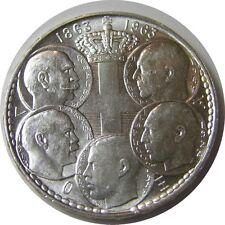 elf Greece Kingdom 30 Drachmai 1963  5 Kings Centennial of Kingdom