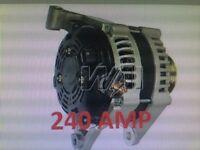 Lamborghini  Alternator Diablo Countach LM002 200 Amp Bosch 0120488005 High Amp