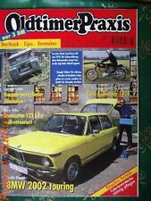 OLDTIMER PRAXIS 8-98+BMW 02 TOURING+LAND ROVER 88+LAMBRETTA+TRIUMPH TRIDENT+FORD