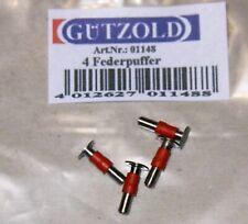 HO Gützold Federpuffer 01148 (4 Stück)