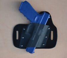 leather/kydex hybrid OWB beltslide holster Glock 17, 22, 31