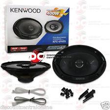"""KENWOOD KFC-6965S 6"""" x 9"""" 3-WAY CAR AUDIO COAXIAL SPEAKERS (PAIR)"""