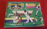 Vintage 1988 Vinyl Baseball Card Collectors Album w/16 Cecil Fielder MLB Cards