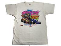 Vintage 90s Modified Racing Tour 1993 New York Black T-Shirt Sz XL Auto rare