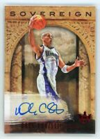 2018-19 DOUG CHRISTIE 16/99 AUTO PANINI COURT KINGS SOVEREIGN AUTOGRAPHS