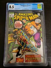 Amazing Spider-Man #85 - Bronze Age 6/1970  - CGC 8.5 OW/W pages - - Kingpin!