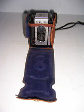 VINTAGE ARGUS ARGOFLEX SEVENTY FIVE BOX CAMERA  WITH LEATHER STRAP CASE