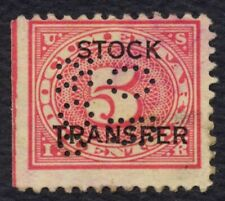 #RD4 5c Stock Transfer, Used [15] **ANY 4=FREE SHIPPING**