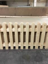 More details for strong picket fence garden panels 6ftx3ft planed smooth x 1 panel
