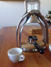 ROK Espresso Coffee Maker base plate accessory add-on riser pad oak wood