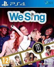 We sing PS4 * neuf scellé pal *