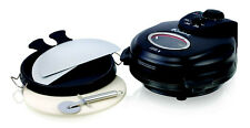 Euro Cuisine Pm600 Electric Rotating Pizza Maker-Oven. -NEW-