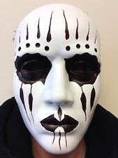 Deluxe Heavy Metal Drummer Resin Mask Slipknot Joey Style Fancy Party Masquerade