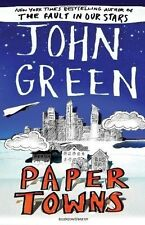 Paper Towns by John Green (New Paperback Book) Author of The Fault in our Stars