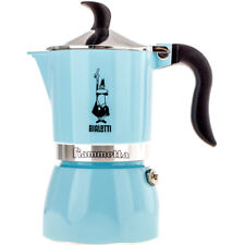 "BIALETTI Caffettiera espresso/coffee maker""Fiammetta""3 tz,colore FLUO LIGHT BLUE"