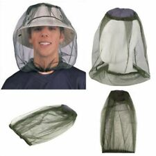Travel Camping Bug Mesh Face Protector Mosquito Midge Hat Net Insect Head HOT