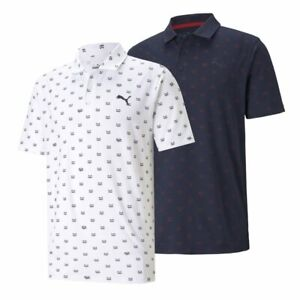 NEW Puma CLOUDSPUN Bandit Golf Polo - Moisture Wicking - Choose Color and Size