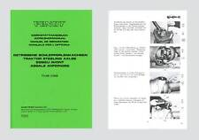 Fendt Farmer 5 S  106 108  Favorit 610 S Werkstatthandbuch Allradachse Schlepper
