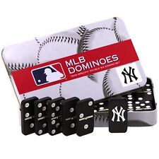 MLB New York Yankees Domino Set in Metal Gift Tin