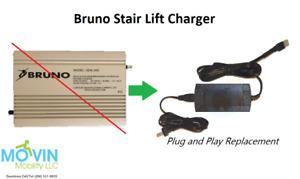 NEW Bruno Stairlift CHARGER for SRE-1540 SRE-1550 SRE-2000 SRE-2010 SRE-2750