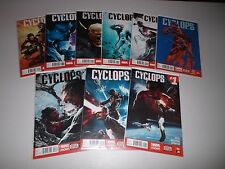 CYCLOPS #1-9  (Lot of 9) 2014 Marvel Now! 1st Prints 1, 2, 3, 4, 5, 6, 7, 8, 9,