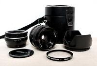 Olympus PEN OM Panasonic LUMIX Micro 4/3 DSLR 28mm Macro Close Up lens EPL DMC +