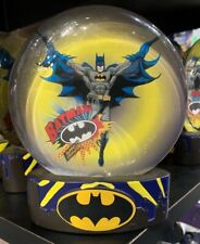 Six Flags Magic Mountain Dc Comics Batman Snow Globe New