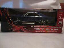 American Muscle 1967 GTO In A Purple 118 Scale Diecast From RC Ertl 2003   dc301