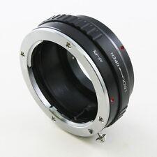 Sony A Minolta AF Lens to Fujifilm Fuji FinePix X-Pro1 X Pro 1 FX adapter T1 E2