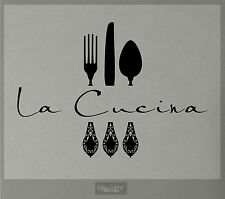 LA CUCINA Only text 30inches