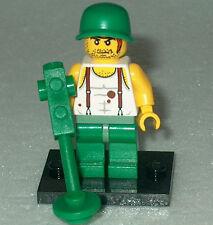 "ARMY/WAR Lego ""U.S Army Soldier"" w/Landmine Detector NEW WWII Genuine Legos"