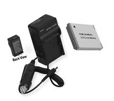 Battery + Charger for Canon SX240 SX260 HS SX240HS SX260HS SD4000 IS SD770 S95